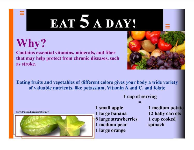5 A DAY !