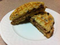 waffle PB&J